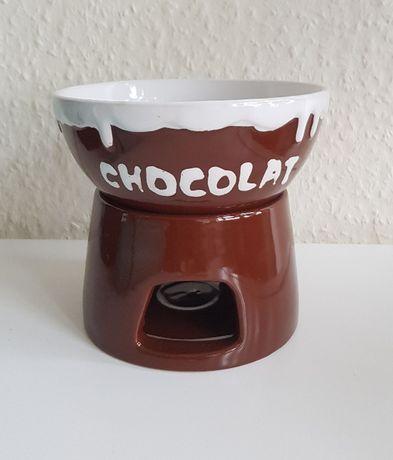 Podgrzewacz do czekolady / Zestaw fondue do czekolady