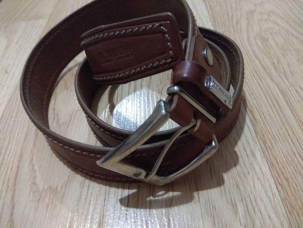 Ремень кожаный бренда Trussardi