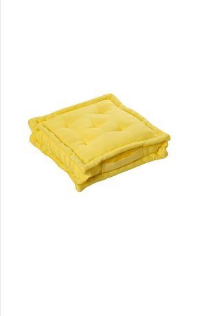 12 sztuk żółtych poduszek siedzisko