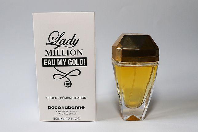 Perfumy Paco Rabanne Lady million my gold 80ml