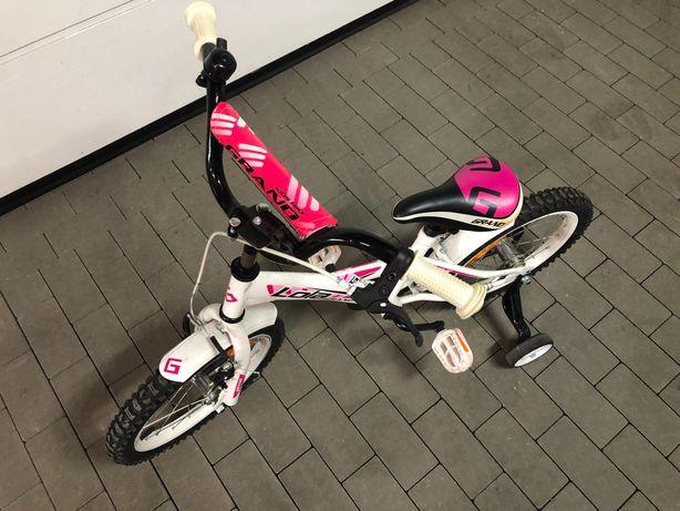 Rower z kolkami dla dziewczynki wiek 4-5 lat