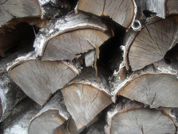 Brzoza Drewno Kominkowe Opałowe Sezonowane Suche
