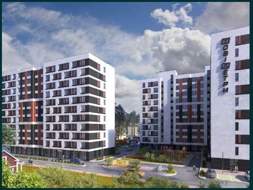 1 кім-37 м2 квартира в ЖК Нові Метри Центр!