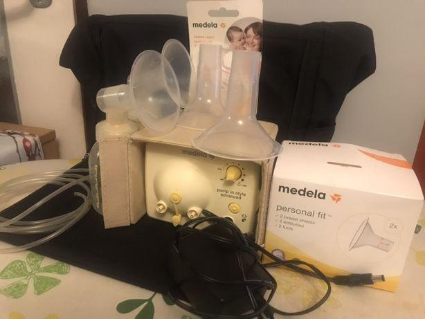 Laktator elektryczny podwójny Medela Pump in Style Advenced w torbie