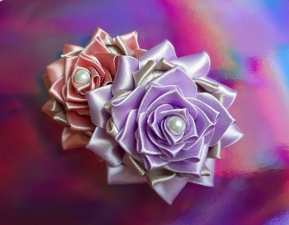 Бантики цветочки для принцесс