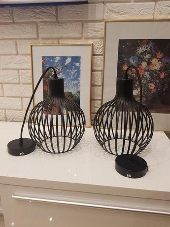 Lampa Loft czarna , metal