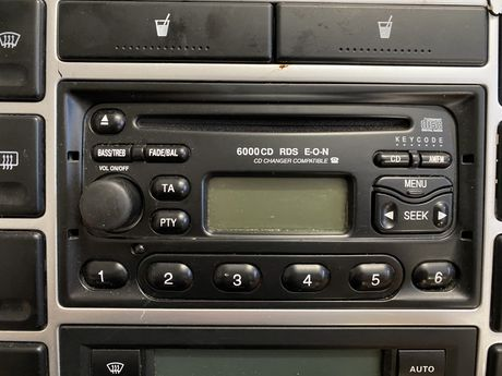 Radio Ford 6000CD z kodem