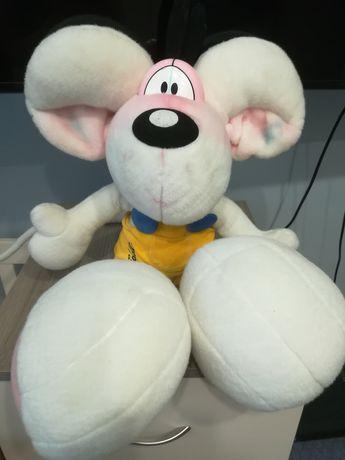 Nici Diddl w żółtych spodenkach mysz maskotka pluszak duży 65cm