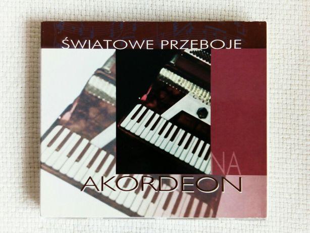 Światowe przeboje na akordeon CD