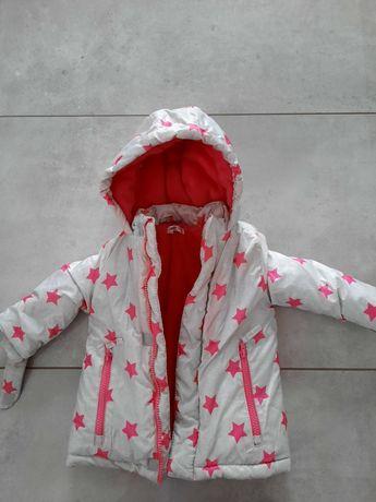 Śliczna kurtka zimowa roz. 80