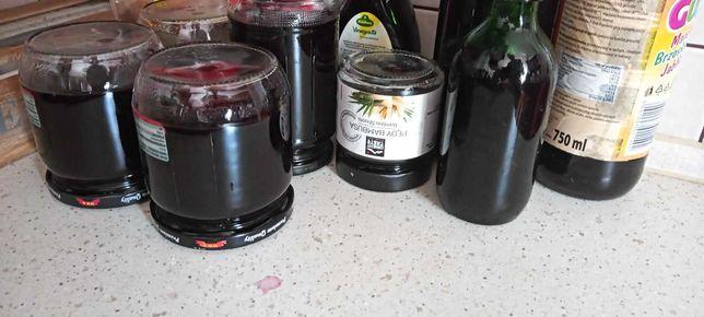 Świeży sok z czarnego bzu z nutką imbiru