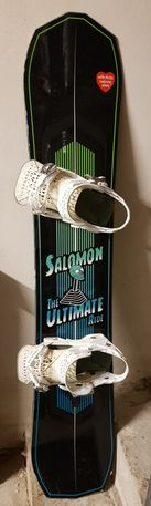 zestaw deska snowboard Salomon Ultimate Ride 150 + wiązania Highlander