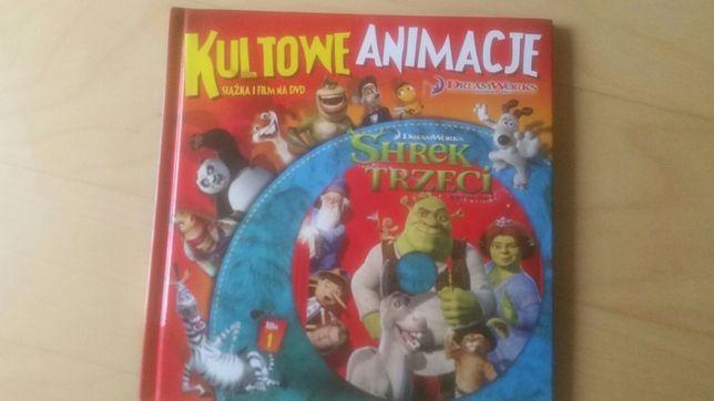 Shrek Trzeci książka i film na DVD Okazja