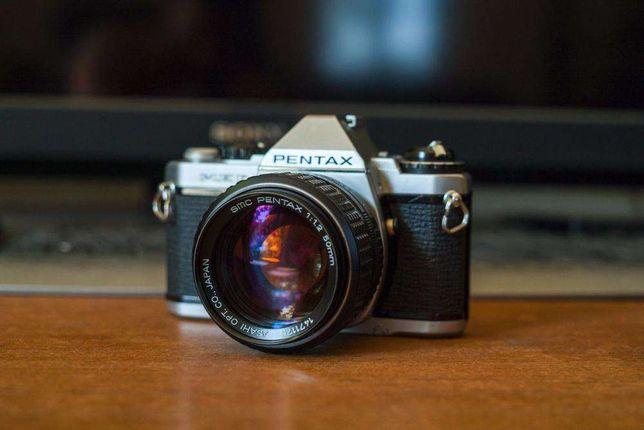 Pentax MEF + 50mm f/1.2 PK