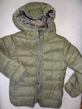 kurtka dla chłopca 116 pikowana