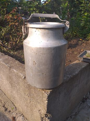 Молочный бидон алюминиевый  10 л