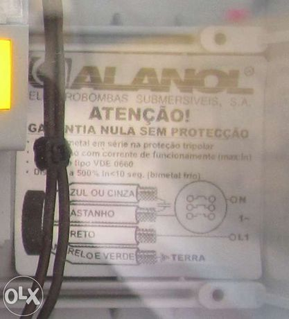 Bomba ALANOL 3 meses de uso AVARIADA