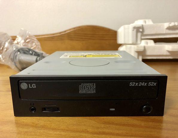 Leitor / Gravador Re-gravador de CD's. LG como Novo
