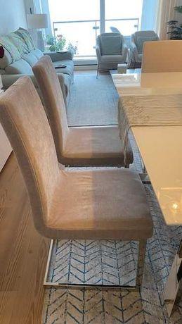 Vendo 8 cadeiras na cor cinza,  em otimo estado de conservacao 1360,00