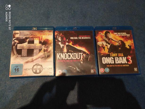 3 Filmy Blu ray Muay Thai  Unikaty