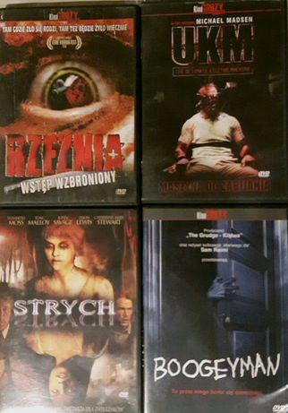 Filmy DVD, horror, 16 sztuk.