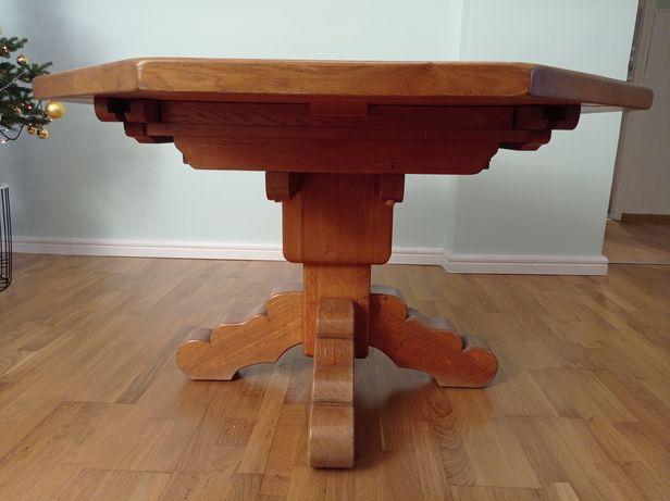 Stół dębowy, solidny