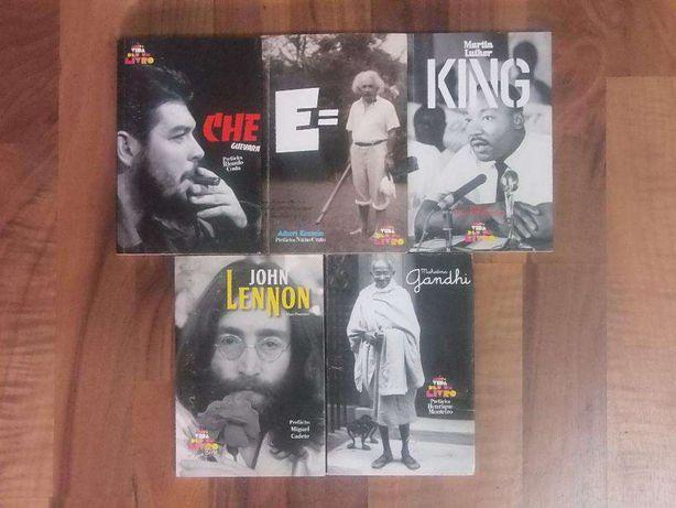 Coleção livros A minha vida deu livro