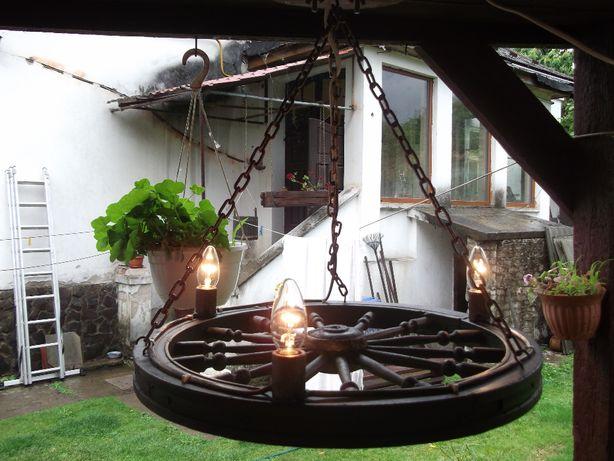 лампа колесо