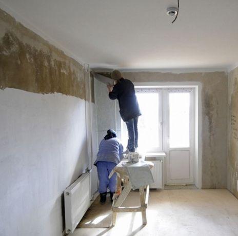 Качественный ремонт квартир, домов, коттеджей