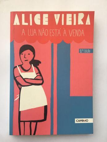 Livro de Alice Vieira, A Lua Não Está À Venda
