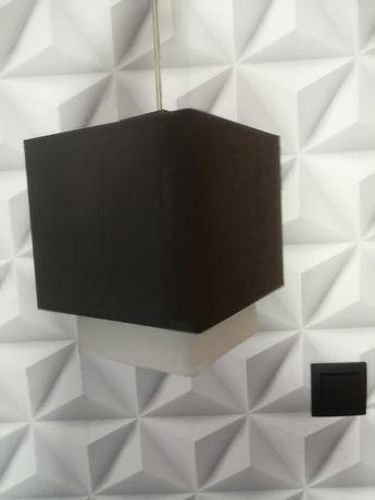 Lampa sufitowa - brąz