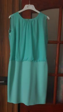 Sukienka rozmiar 42 miętowa