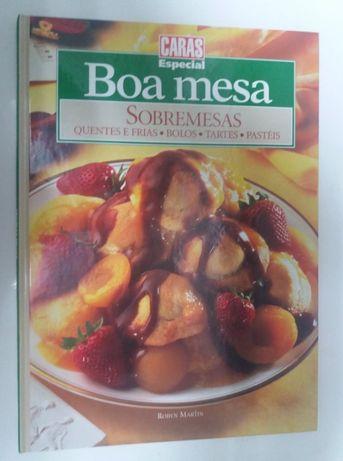 "Livro ""Boa Mesa"" -Sobremesas"