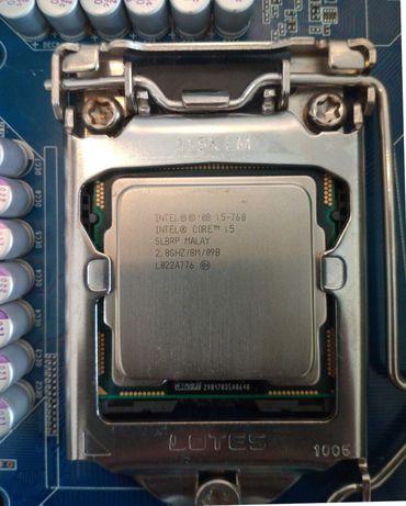 Cpu Intel Core i5-760 até 3.33Ghz (4 Núcleos 4 Threads) para LGA 1156