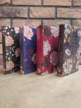 Angielski ogród. Jane Austen, Charlotte Bronte, Emily Bronte (zestaw)