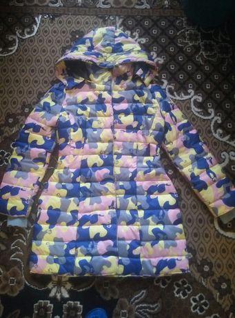 Женская демисезонная куртка, курточка, парка, пальто 46-48 размер