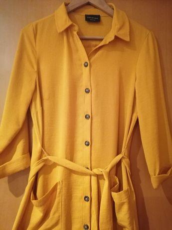 Vestido C&A amarelo ajustável