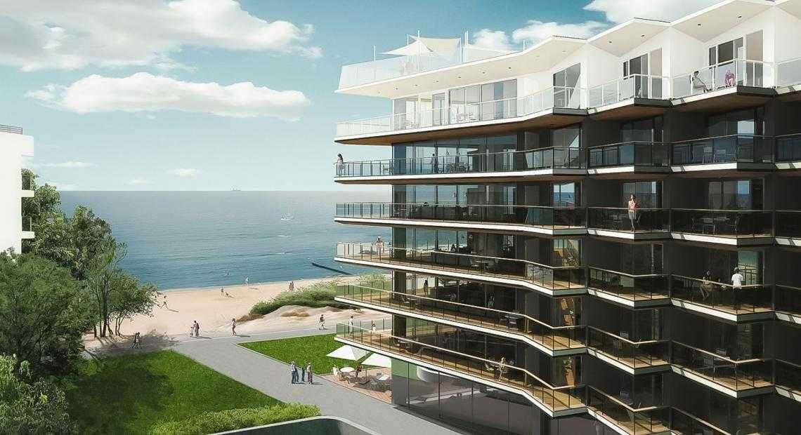 NOWY Hotel Seaside Apartament Kołobrzeg - SPA, Basen, Jacuzzi, ścianka