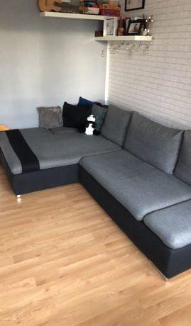 Narożnik sofa duża rogówka