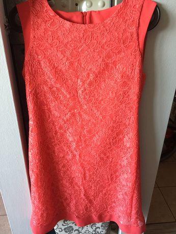Sukienka koronkowa r.38