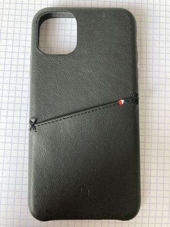 Skórzane etui iPhone 11, Decoded