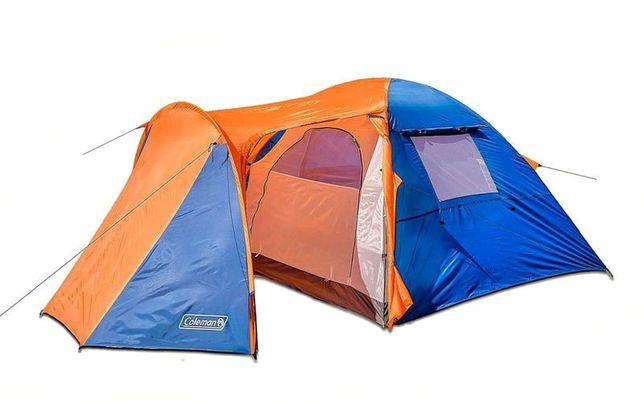 Палатка 4 местная с тамбуром Coleman 1036 (двухcлойная)