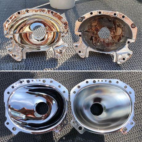 Odbłyśniki po Regeneracji Soczewka BMW E60 Audi A6C6 XENON H7 Odblask