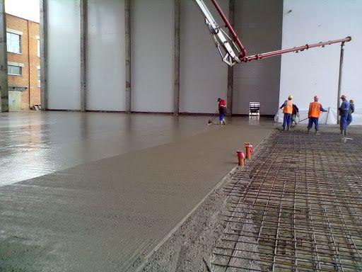 Промислова, наливна, бетонна, епоксидна підлога, Шліфований бетон