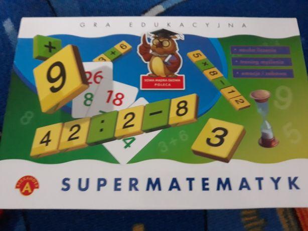Gra edukacyjna - SUPERMATEMATYK