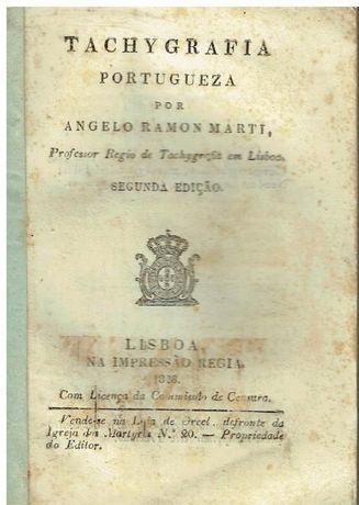 6427 - Tachygrafia Portugueza por Angelo Ramon Marti