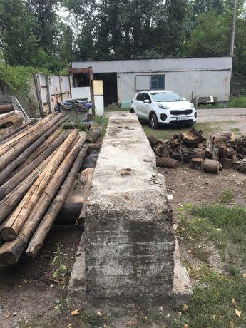 Фундаментный ЖБ блок 6 метров