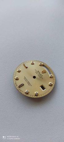 Mostrador original usado de relógio Rolex