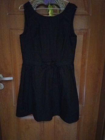 Czarna sukienka damska XL