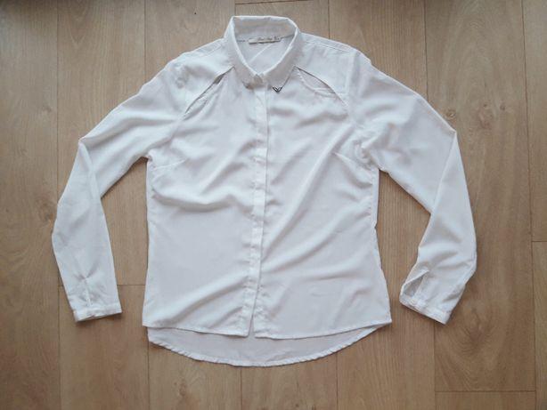 biała koszula elegancka M/L 38 40